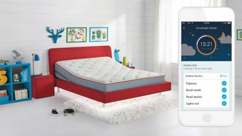 SleepIQ Kids讓兒童床都變的很聰明