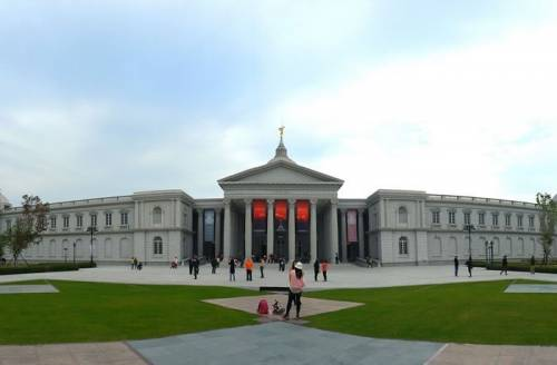 台南旅遊 奇美博物館 跨越八十年的文藝復興博物館大夢