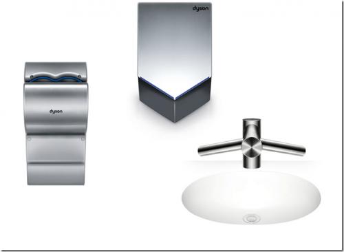 Airblade系列乾手機 打造衛浴廚洗手乾手新體驗