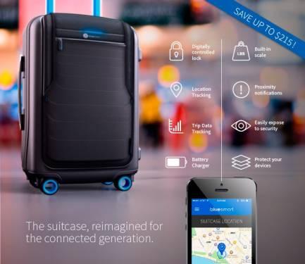 聰明行李箱Bluesmart 讓行李走到哪兒都無所遁形