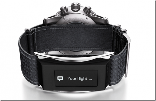經典名牌萬寶龍 打造TimeWalker都會極速系列智能手環