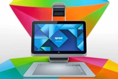 HP Sprout讓PC不只是PC 還是你的3D工作室
