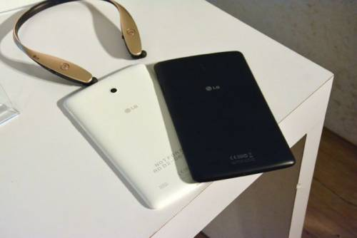 LG 推出首款 LTE 平板 G Tablet 8.0 售價NT 8 990