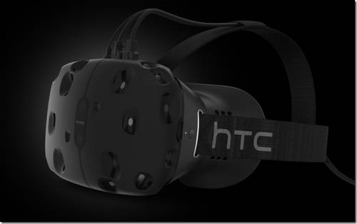 頭戴式裝置正夯 HTC + VALVE = HTC VIVE