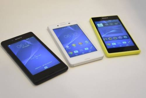 Sony系列新品SmartBand Talk SmartWatch 3 與三款新機一款平板IFA 亮相