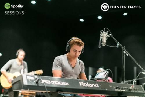 Spotify Sessions與葛來美提名天才創作歌手Hunter Hayes 聯手襲捲亞洲音樂市場