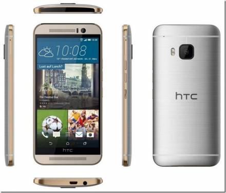 HTC M9 Hima官圖流出?金銀混色搶眼