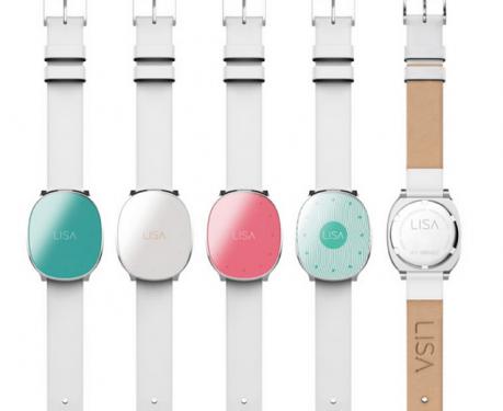 智慧型手錶當道 LISA專為孕媽咪量身打造