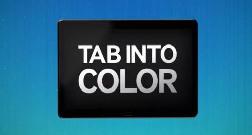 Tab into Color SAMSUNG將於13日早上七點發表最新平板