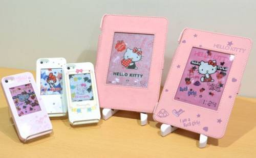當E-Ink遇上Hello Kitty 保護殼變得更活潑了!