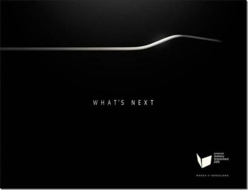 Samsung GALAXY S6 MWC登場 曲面側螢幕為特色?