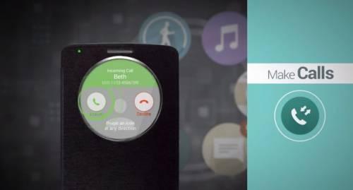 LG G3也將推出具有多樣功能保護套- Quick Circle Case