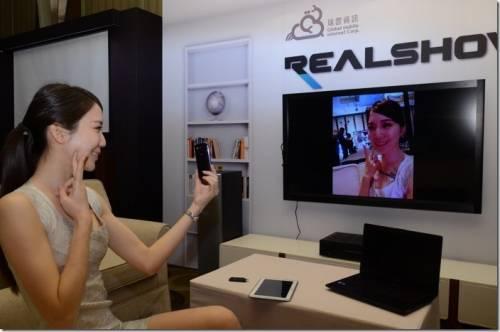 手機影音串流分享成流行 瑞雲資訊推出REALSHOW真享秀手機影音棒