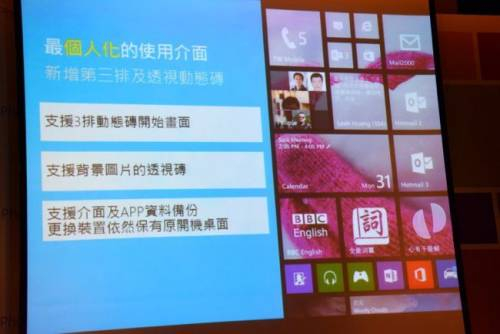 Windows Phone 8.1 帶著