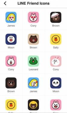 LINE Deco app 讓你的手機全部主題都是LINE