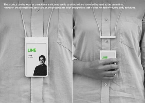 獲得2014 iF 設計大展 兼具可愛與實用的LINE識別證
