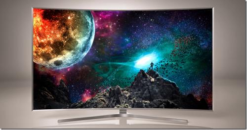 Quantum Dots技術與Tizen系統加持 Samsung推出SUHD曲面電視