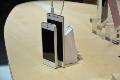 5.5mm 全球最薄手機!金立 GiONEE S5.5 現身 MWC 2014