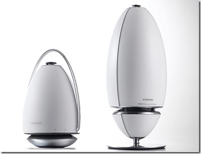 Samsung推出多款揚聲器 360度全向式音響造型前衛