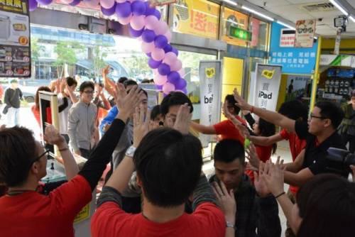 內湖燦坤旗艦 Apple Shop 2.0 空前盛大開幕