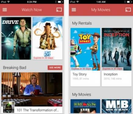 Google Play 在 App Store 上架 提供iOS 用戶看片新選擇