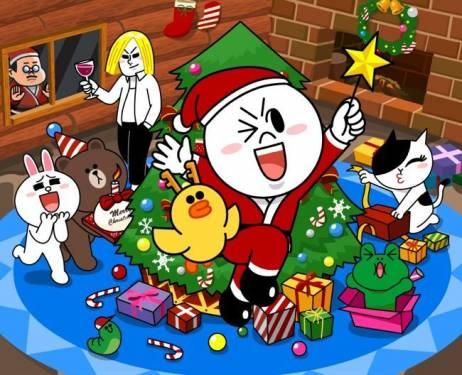 LINE聖誕老人請全球用戶許願 「您希望為孩子們的未來做什麼?」