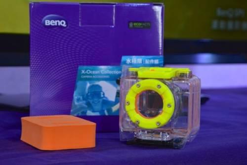 BenQ推出 SPI運動攝影機 陪你上山下海零極限