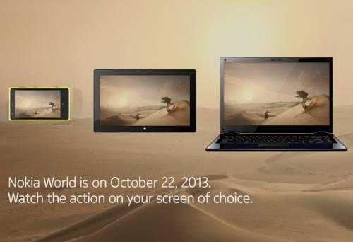 10 22 台灣時間下午3點 Nokia World在阿布達比盛大發表