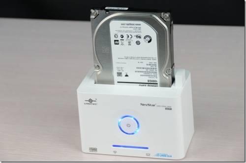 凡達克 NexStar WiFi傳輸方塊 隨插即用硬碟外接盒 筆電 MAC 手機無線連接好便利