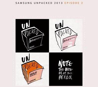 SAMSUNG Note 3發表在即 規格讓人充滿期待