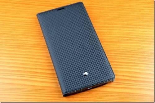 Montblanc 萬寶龍 Note 4保護套開箱 時尚感大加分