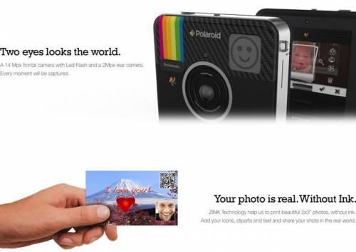 Socialmatic 拍立得相機 讓你邊走邊拍邊分享!
