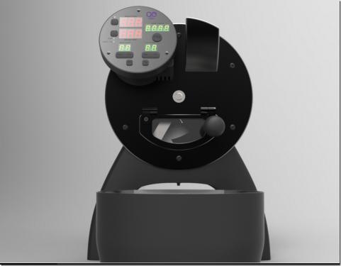 咖啡烘豆機也智慧了 Aillio Bullet R1 將專業溫度曲線控制移植小型烘豆機