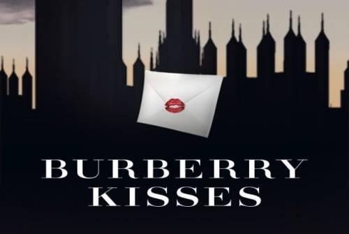 BURBERRY KISSES 化身成英倫情人 為你