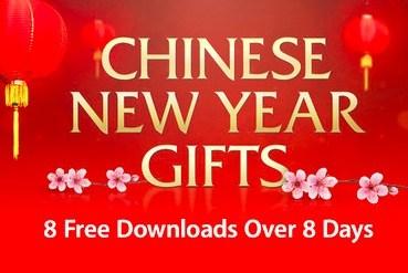 iTunes送上八天免費apps 祝大家農曆新春快樂
