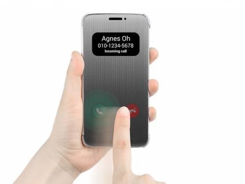 親愛的 我把接聽電話變得更加簡單了 LG G5 Quick Phone Cover 保護套亮相