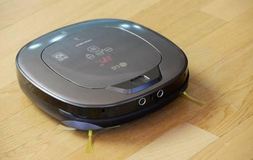 LG 推出清潔機器人 HOM-BOT Turbo+ 為居家清潔帶來更便利的應用