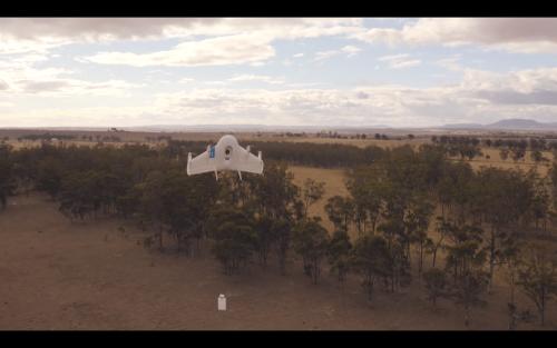 Google 加入無人飛行器快遞戰局 預計 2017 年全面上空