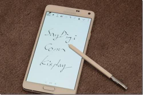 Samsung GALAXY Note 4 四大特色 動手詳測