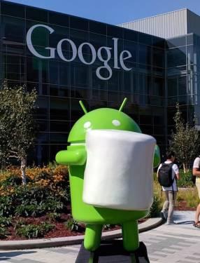 是枕頭?還是棉被?Google 總部門口突然出現神秘機器人