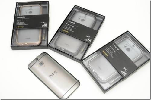 讓HTC One M8保有金屬握感的最佳防護 innerexile odyssey 頂級鋁合金保護框動手玩