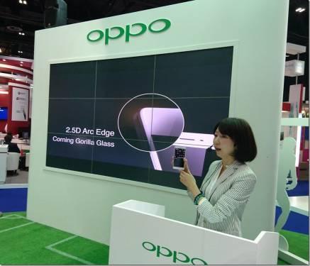 OPPO杜拜首發5.5吋R7s 驚豔登場
