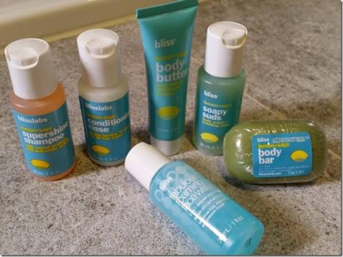 bliss泡泡活膚面膜 經典洗髮乳 試用心得