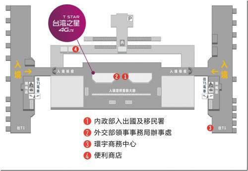 台灣之星增設桃園機場一航站服務中心 「台灣卡」5日上網吃到飽只要 250元!
