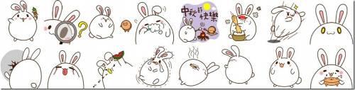 WeChat Team中秋限定!小遊戲與超萌動態貼圖同步齊發!