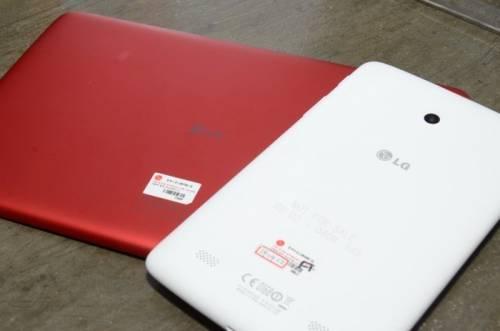 LG 全新G Tablet登場 7吋 10.1吋 搭配QPair 2.0更好用