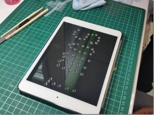 康寧玻璃授權強化玻璃保護貼 imos 讓iPad mini air更具防護
