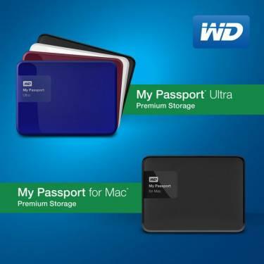 全新 WD My Passport 硬碟提供3TB的容量與更簡易的備份軟體