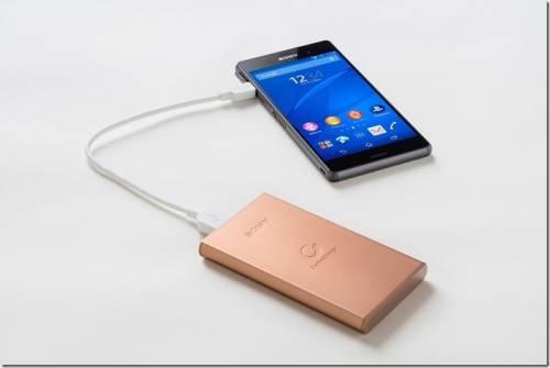 Sony CP-S5 行動電源 輕薄小巧還可高速同步充放電