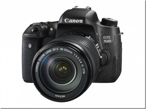 Canon輕巧單眼再進化 EOS 760D及EOS 750D兩款新機在台發售 改寫輕量級單眼標準